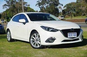 2016 Mazda 3 BM5438 White 6 Speed Sports Automatic Hatchback Wangara Wanneroo Area Preview