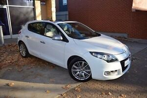 2013 Renault Megane III B95 MY13 GT-Line EDC White 6 Speed Sports Automatic Dual Clutch Hatchback Stepney Norwood Area Preview