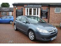 CITROEN C4 1.6 CACHET HDI 5d 89 BHP 2 OWNERS FROM NEW (grey) 2008