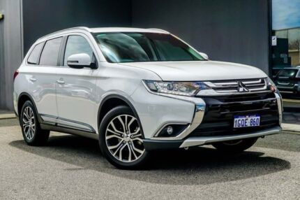2016 Mitsubishi Outlander ZK MY16 LS 4WD Starlight 6 Speed Constant Variable Wagon Osborne Park Stirling Area Preview
