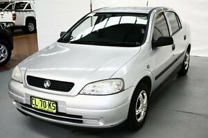 2004 Holden Astra TS MY04.5 Classic Silver 4 Speed Automatic Sedan Maryville Newcastle Area Preview