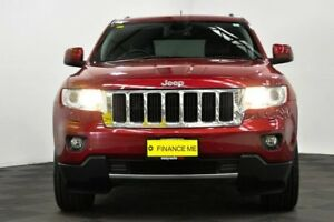 2012 Jeep Grand Cherokee WK MY2013 Limited Red 5 Speed Sports Automatic Wagon
