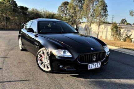 2011 Maserati Quattroporte MY11 Black 6 Speed Sports Automatic Sedan Darra Brisbane South West Preview