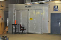 Used Binks Automotive Cross Draft Paint Booth (Complete)