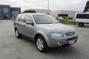 2005 Ford Territory SX Ghia (4x4) Silver 4 Speed Auto Seq Sportshift Wagon Hoppers Crossing Wyndham Area Preview
