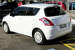 2014 Suzuki Swift FZ MY14 GL White 4 Speed Automatic Hatchback North Gosford Gosford Area Preview