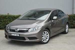 2012 Honda Civic 9th Gen VTi-L Brown 5 Speed Sports Automatic Sedan South Maitland Maitland Area Preview