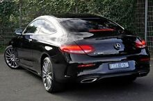 2016 Mercedes-Benz C300 205 MY16 Black 7 Speed Sports Automatic Coupe Doncaster Manningham Area Preview