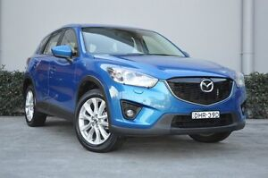 2012 Mazda CX-5 Grand Tourer (4x4) Sky Blue 6 Speed Automatic Wagon South Maitland Maitland Area Preview