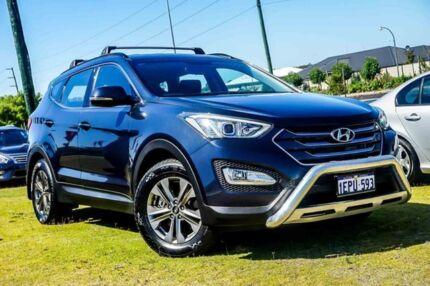 2014 Hyundai Santa Fe DM MY14 Active Blue 6 Speed Sports Automatic Wagon Wangara Wanneroo Area Preview