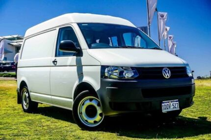 2011 Volkswagen Transporter T5 MY11 Low Roof DSG White 7 Speed Sports Automatic Dual Clutch Van Wangara Wanneroo Area Preview