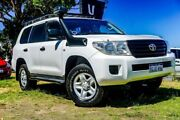 2012 Toyota Landcruiser VDJ200R MY10 GX White 6 Speed Sports Automatic Wagon Wangara Wanneroo Area Preview