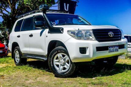 2012 Toyota Landcruiser VDJ200R MY10 GX White 6 Speed Sports Automatic Wagon Wangara Wanneroo Area Preview