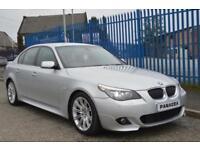 2007 57 BMW 5 SERIES 3.0 525D M SPORT 4D AUTO 195 BHP DIESEL