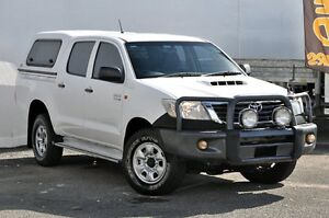 2012 Toyota Hilux KUN16R MY12 SR Xtra Cab White 5 Speed Manual Utility Tweed Heads South Tweed Heads Area Preview