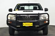 2012 Toyota Hilux KUN16R MY12 SR Xtra Cab White 5 Speed Manual Utility Edgewater Joondalup Area Preview