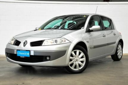 2006 Renault Megane II B84 Dynamique Silver 4 Speed Sports Automatic Hatchback Thornlie Gosnells Area Preview
