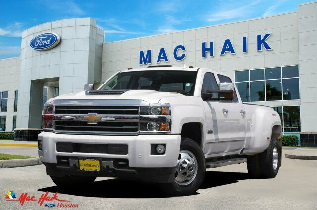2019 Chevrolet Silverado 3500HD High Country 9328 Miles Iridescent Pearl Tricoat
