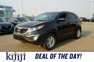 2013 Kia Sportage AWD LX Accident Free,  Heated Seats,  Bluetoot