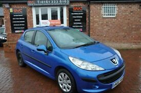 PEUGEOT 207 1.4 S 8V 5d 73 BHP 2 OWNERS FROM NEW (blue) 2008