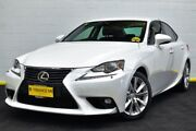 2014 Lexus IS250 GSE30R Luxury White 6 Speed Sports Automatic Sedan Canning Vale Canning Area Preview