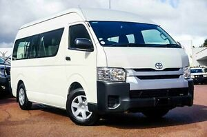 2014 Toyota Hiace KDH223R MY14 Commuter High Roof Super LWB White 4 Speed Automatic Bus Westminster Stirling Area Preview
