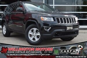 2016 Jeep Grand Cherokee Laredo / New Tires / No Accidents / Cer