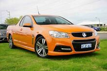 2013 Holden Ute VF MY14 SV6 Ute Orange 6 Speed Manual Utility Wangara Wanneroo Area Preview