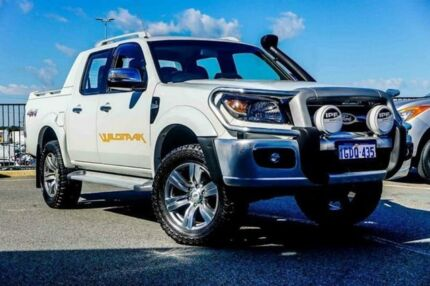 2011 Ford Ranger PK Wildtrak (4x4) White 5 Speed Automatic Dual Cab Pick-up Wangara Wanneroo Area Preview