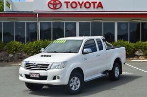 2012 Toyota Hilux White Manual Utility Highland Park Gold Coast City Preview