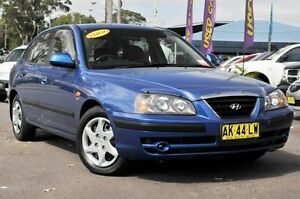 2006 Hyundai Elantra XD MY05 FX Blue 4 Speed Automatic Hatchback North Gosford Gosford Area Preview