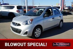 2015 Nissan Micra S AUTOMATIC Accident Free,  A/C,