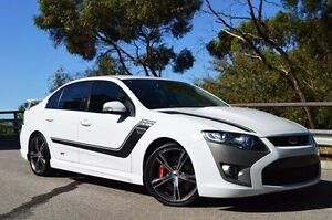 2013 Ford Performance Vehicles GT FG MK II Boss 335 White 6 Speed Manual Sedan Thorngate Prospect Area Preview