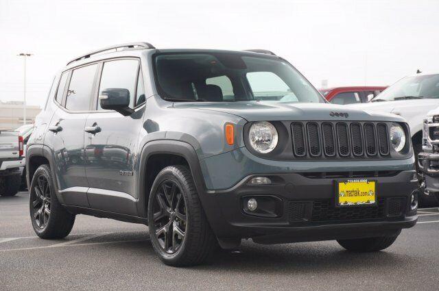 Owner 2017 Jeep Renegade Altitude 42005 Miles Anvil Sport Utility Regular Unleaded I-4