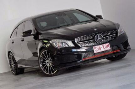 2016 Mercedes-Benz CLA250 X117 806MY Sport Shooting Brake DCT 4MATIC Black 7 Speed