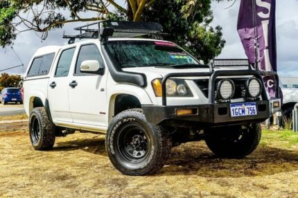 2008 Holden Colorado RC LX Crew Cab White 5 Speed Manual Utility Wangara Wanneroo Area Preview