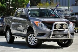 2012 Mazda BT-50 UP0YF1 XT Grey 6 Speed Sports Automatic Utility Southport Gold Coast City Preview