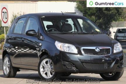 2009 Holden Barina TK MY09 Grey 5 Speed Manual Hatchback Ringwood East Maroondah Area Preview