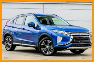 2018 Mitsubishi Eclipse Cross YA MY18 LS 2WD Lightning Blue 8 Speed Constant Variable Wagon
