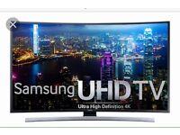 "Samsung 48"" 4K UHD Curved Smart TV"