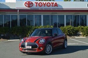 2016 Mini Hatch F56 Cooper Red 6 Speed Automatic Hatchback Highland Park Gold Coast City Preview