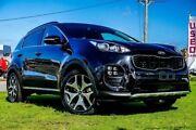 2018 Kia Sportage QL MY18 GT-Line (awd) Black Cherry 6 Speed Automatic Wagon Wangara Wanneroo Area Preview