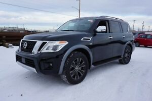 2018 Nissan Armada AWD PLATINUM HEATED & COOLED SEATING, NAVIGAT