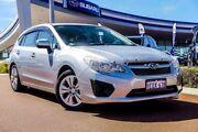 2014 Subaru Impreza G4 MY14 2.0i AWD Silver 6 Speed Manual Hatchback Wangara Wanneroo Area Preview