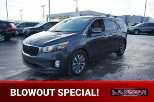 2018 Kia Sedona SX PLUS Accident Free,  Leather,  Heated Seats,