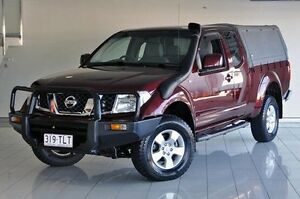2009 Nissan Navara D40 ST-X King Cab Red 6 Speed Manual Utility Southport Gold Coast City Preview