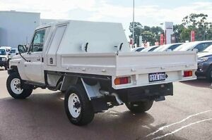 2012 Toyota Landcruiser VDJ79R MY10 Workmate White 5 Speed Manual Cab Chassis Westminster Stirling Area Preview