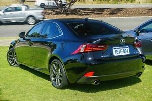 2013 Lexus IS250 GSE30R F Sport Black 6 Speed Sports Automatic Sedan Wangara Wanneroo Area Preview