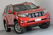 2017 Toyota Landcruiser Prado GDJ150R VX Red 6 Speed Sports Automatic Wagon Indooroopilly Brisbane South West Preview