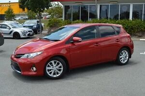 2013 Toyota Corolla Red Constant Variable Hatchback Highland Park Gold Coast City Preview